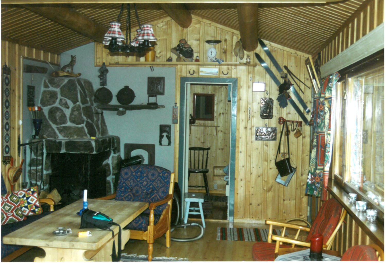Pusse opp gammel hytte- her før oppussing