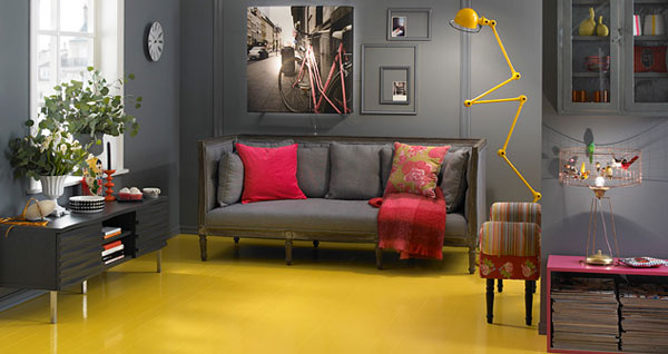 Hva gjør fargene med rommet